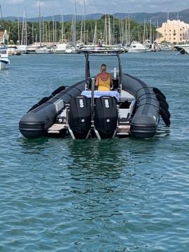 Rental yacht Cogolin - Sea Water Smeralda Phantôm 280 on SamBoat