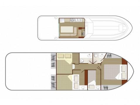 Boat rental  Sedan 1160 in Lübz on Samboat