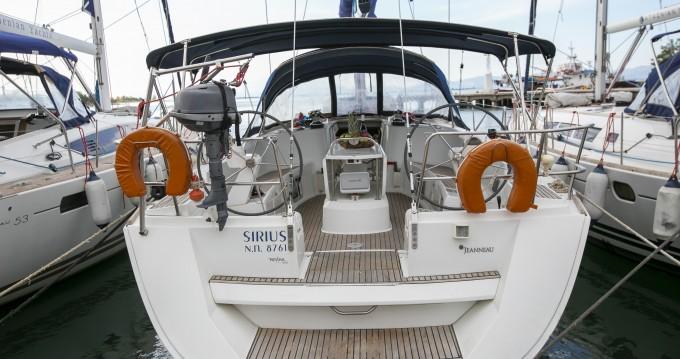 Rental yacht Keramotí - Jeanneau Sun Odyssey 49 on SamBoat