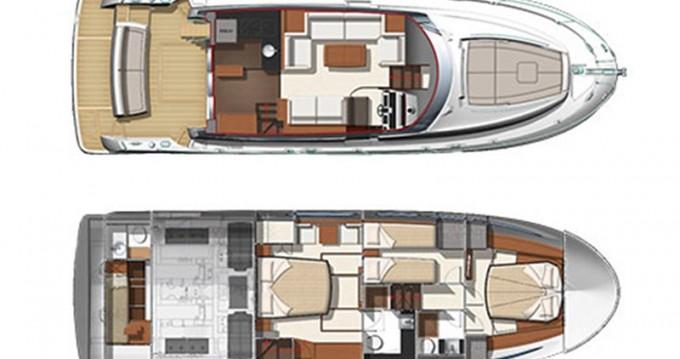 Rental Motorboat in Šibenik - Jeanneau Prestige 500 Fly