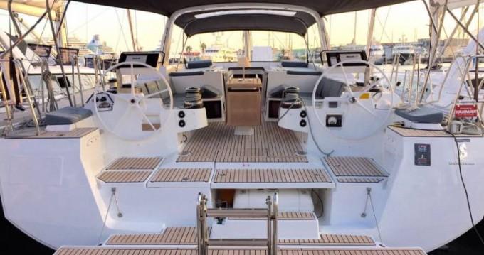 Boat rental Marina di Portisco cheap Oceanis 55