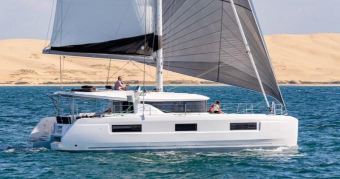 Boat rental Trogir cheap Lagoon 46