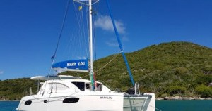 Rental Catamaran Robertson and Caine with a permit