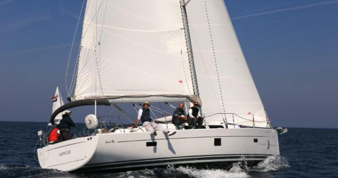 Boat rental Helsinki cheap Hanse 445