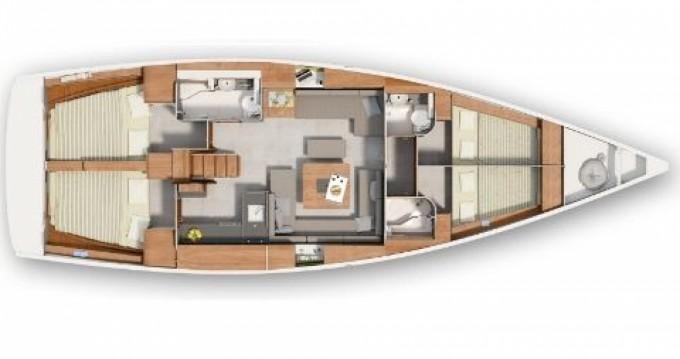 Rental yacht Helsinki - Hanse Hanse 445 on SamBoat