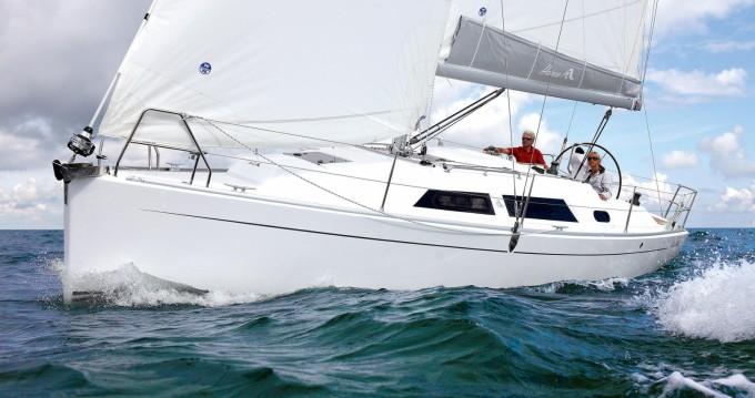 Rental Sailboat in Athens - Hanse Hanse 325