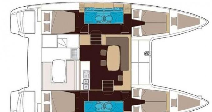 Rental yacht Salerno - Lagoon Lagoon 400 S2 on SamBoat