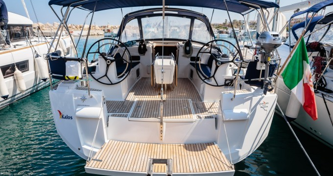 Jeanneau Sun Odyssey 519 between personal and professional Salerno