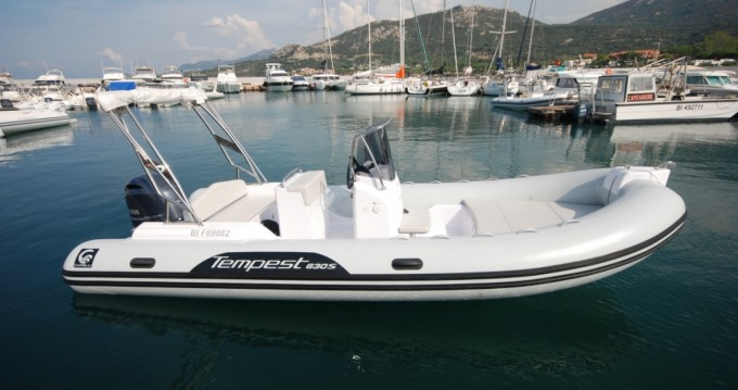 Boat rental Capelli Tempest 630 in Cannes on Samboat