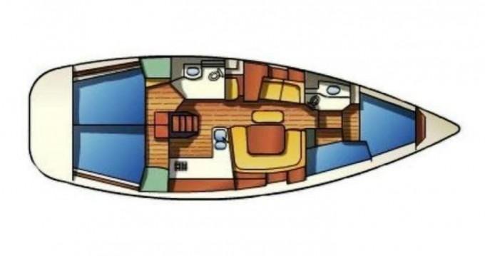 Rental yacht Porto de Portimao - Jeanneau Sun Odyssey 43 on SamBoat