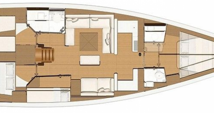 Rental Sailboat in Le Marin - Dufour Dufour 520 Grand Large