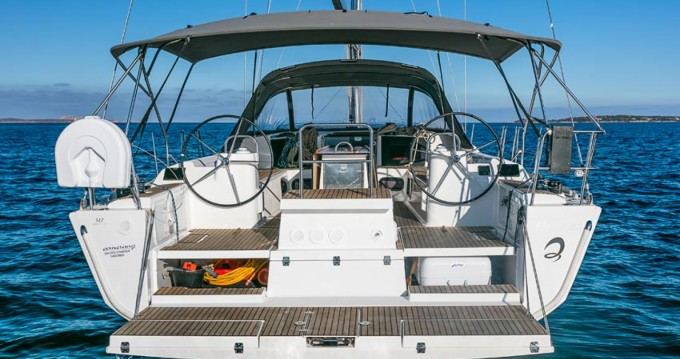 Boat rental Dufour Dufour 512 GL in Capo d'Orlando on Samboat