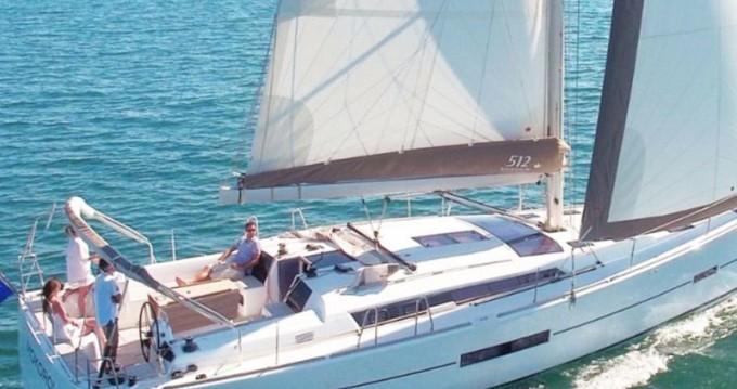 Boat rental Capo d'Orlando cheap Dufour 512 GL