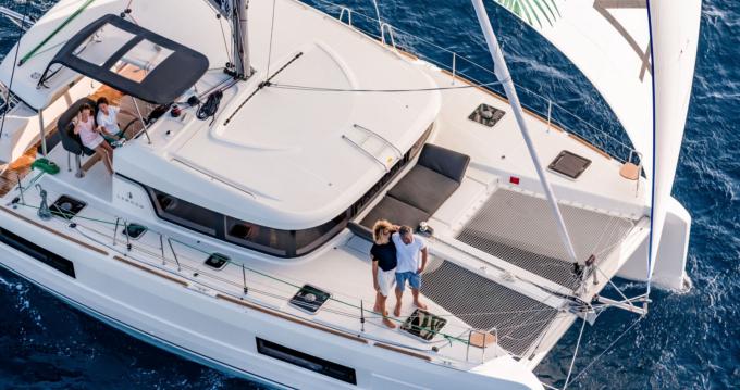 Boat rental Villasimius cheap Lagoon 40