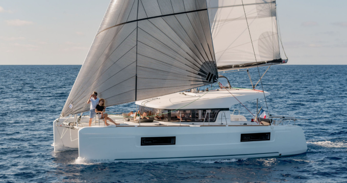 Hire Catamaran with or without skipper Lagoon Villasimius