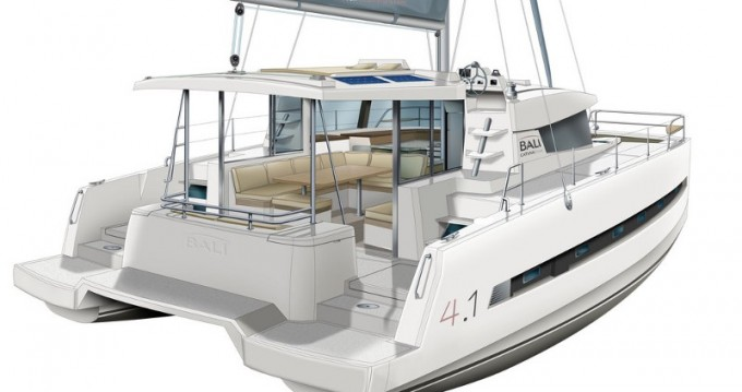 Rental Catamaran in Alimos - Bali Catamarans Bali 4.1