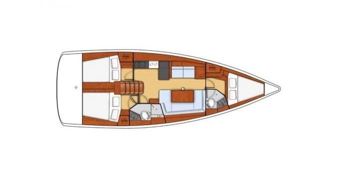 Hire Sailboat with or without skipper Bénéteau Vibo Valentia Marina