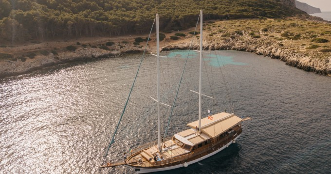 Hire Sailboat with or without skipper Hande Capo d'Orlando