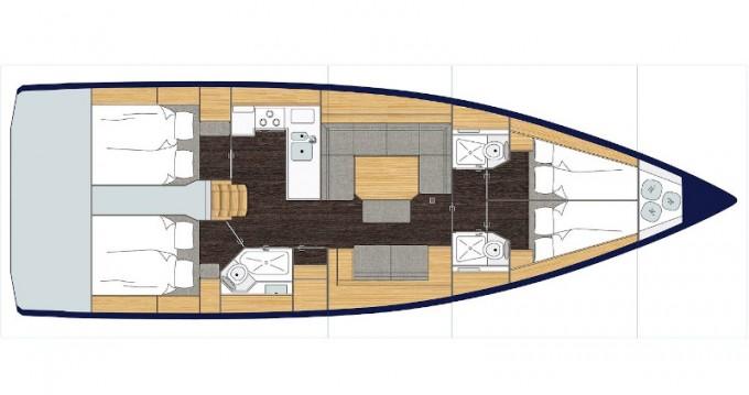Rental yacht Volos - Bavaria Bavaria C45 on SamBoat
