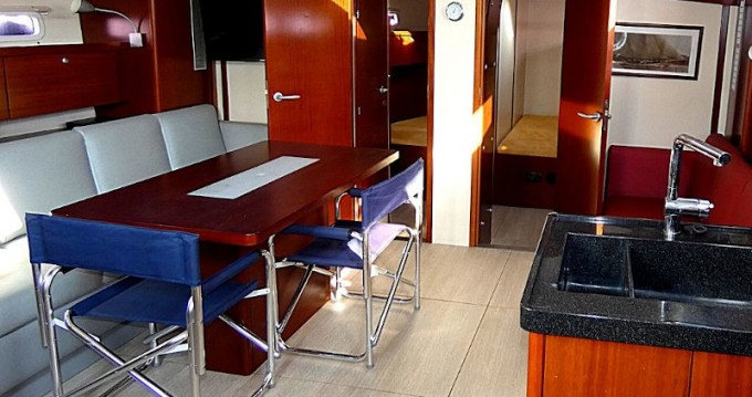 Rental Sailboat in Lávrio - Hanse Hanse 540e