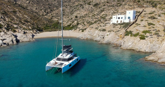 Rental Catamaran in Santorini - Nautitech Nautitech 46 Fly