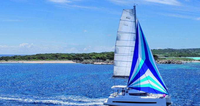 Hire Catamaran with or without skipper Bali Catamarans Porto-Vecchio