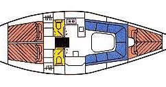 Boat rental Willemstad cheap Dehler 38