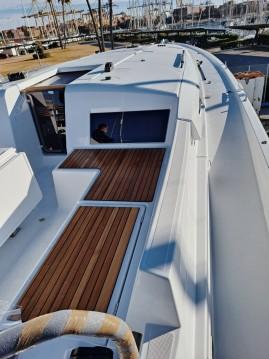 Boat rental Valencia cheap Sun Odyssey 490