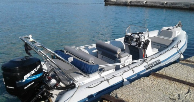 Planatech 570 between personal and professional Paros Island
