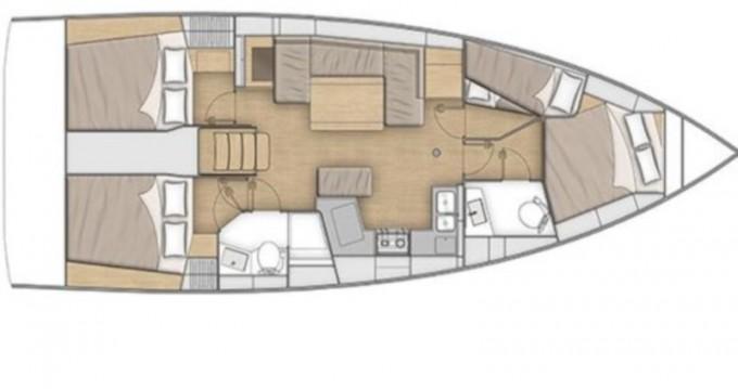 Rental Sailboat in Lefkada (Island) - Bénéteau Oceanis 40.1