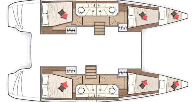 Boat rental Lagoon Lagoon 40 in Göcek on Samboat