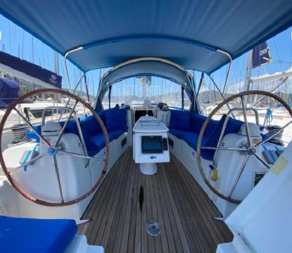 Boat rental Fethiye cheap Oceanis 43