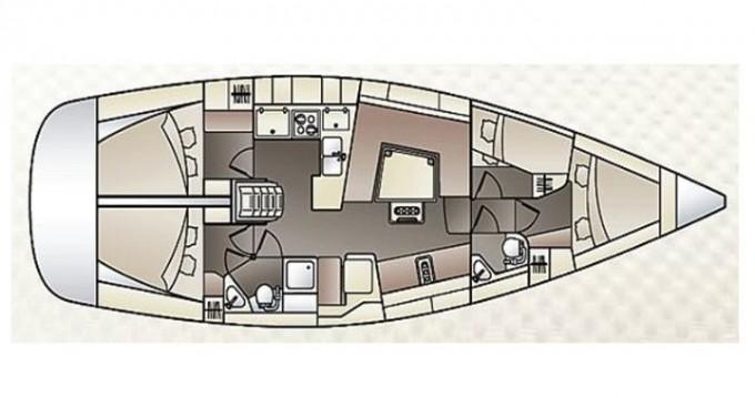Rental Sailboat in Göcek - Elan Impression 444