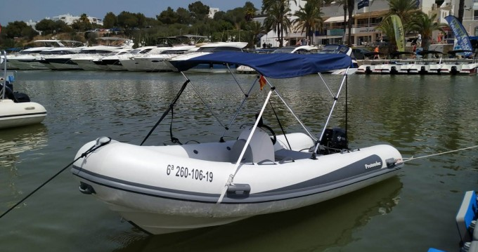 Hire RIB with or without skipper Protender Cala d'Or