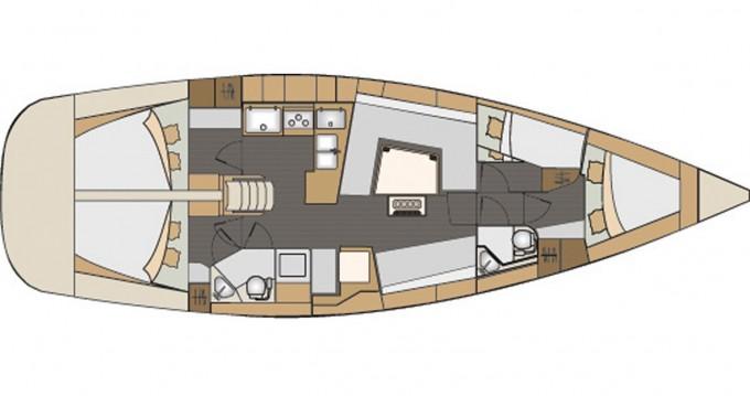 Boat rental Elan Impression 45 in Lávrio on Samboat