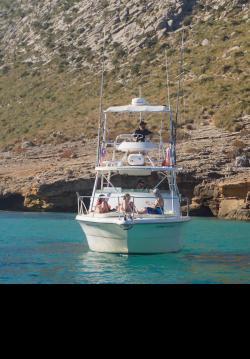 Motorboat for rent Pollença at the best price