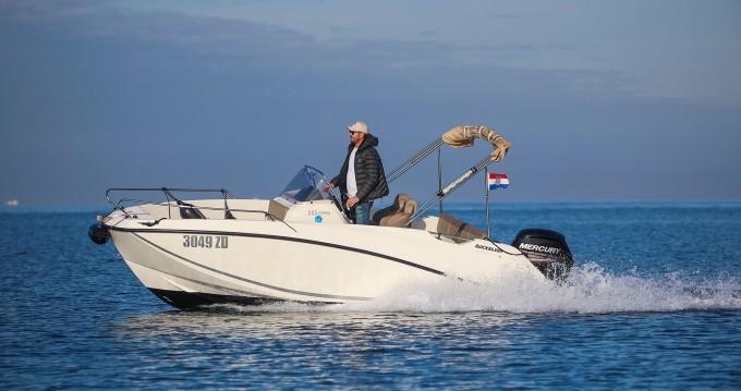 Boat rental Sukošan cheap Quicksilver Activ 555