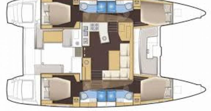 Rental Catamaran in Capo d'Orlando - Lagoon Lagoon 450
