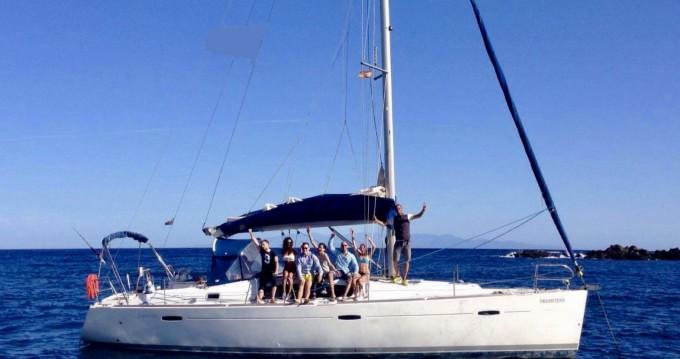 Boat rental Ibiza Island cheap Oceanis 43