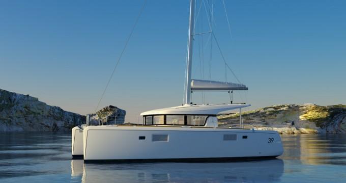 Boat rental Propriano cheap Lagoon 39