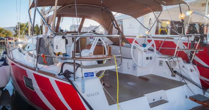 Rental Sailboat in Biograd na Moru - Elan Impression 40