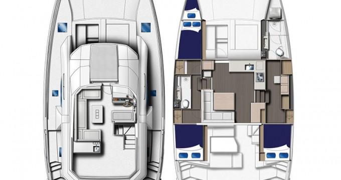 Rental Motorboat in Nassau - Leopard Moorings 433 PC