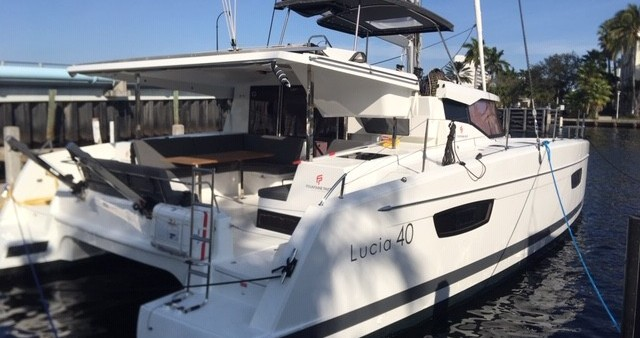 Rental yacht Fort Lauderdale - Fountaine Pajot Lucia 40 on SamBoat