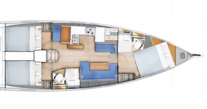 Rental Sailboat in Salivoli - Jeanneau Sun Odyssey 410