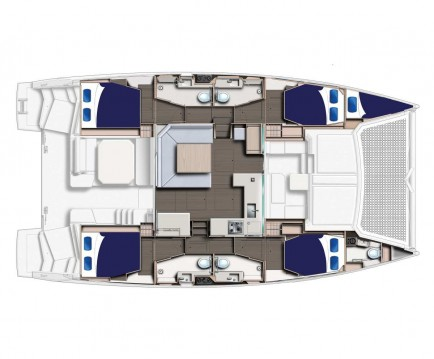 Rental yacht Furnari - Robertson and Caine Leopard 45 on SamBoat