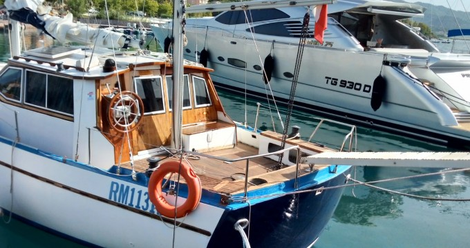 Rental Sailboat Franchini with a permit