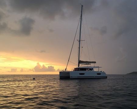Boat rental Fountaine Pajot Lucia 40 in Tortola on Samboat