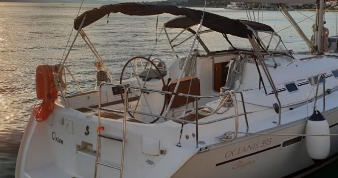 Boat rental Pula cheap Oceanis 393 Clipper