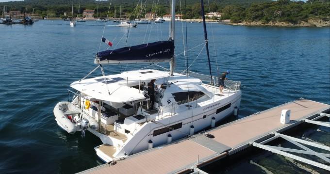 Rental Catamaran in Hyères - Leopard Leopard 40