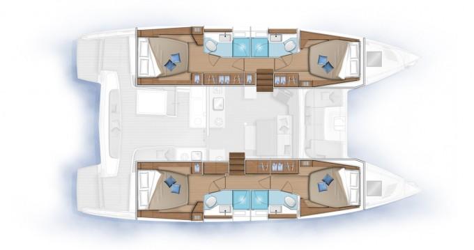 Boat rental Lagoon Lagoon 46 in Hyères on Samboat